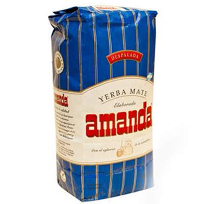 Mate tea Amanda despalada, 500g