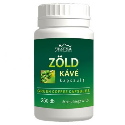 Crystal Zöld kávé kapszula, 250db