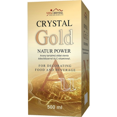 Crystal Gold Natur Power, 4500ml (9 x 500ml)