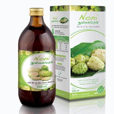 Mannavita NONI 100%-os gyümölcslé, 500 ml (5+1 ajándék)
