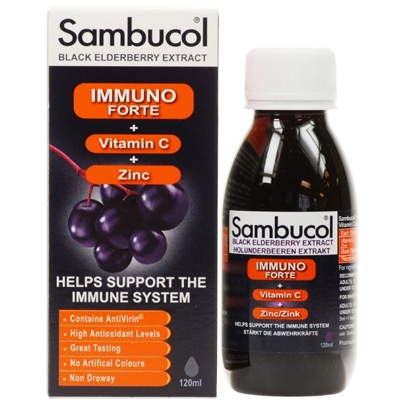 Sambucol fekete bodza Immuno forte, 120ml